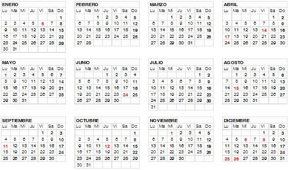 Calendario Laboral De Cataluna.Calendario Laboral Del 2017 En Cataluna